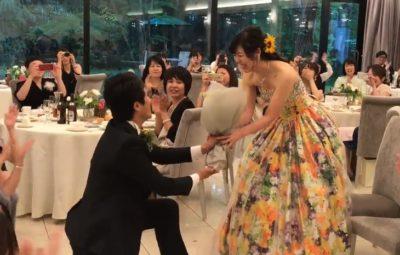結婚式プロポーズ