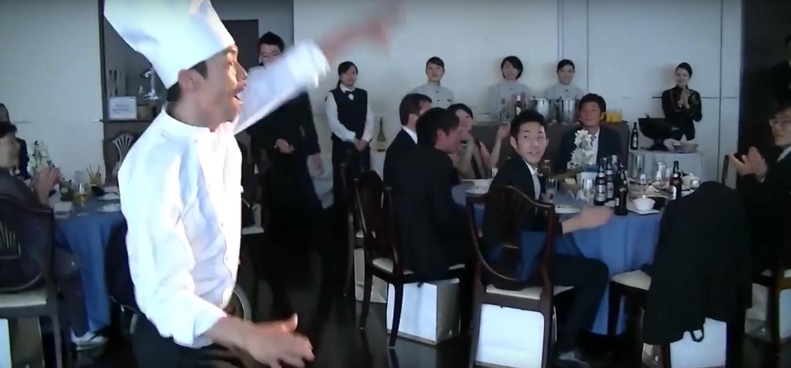 料理長の挨拶