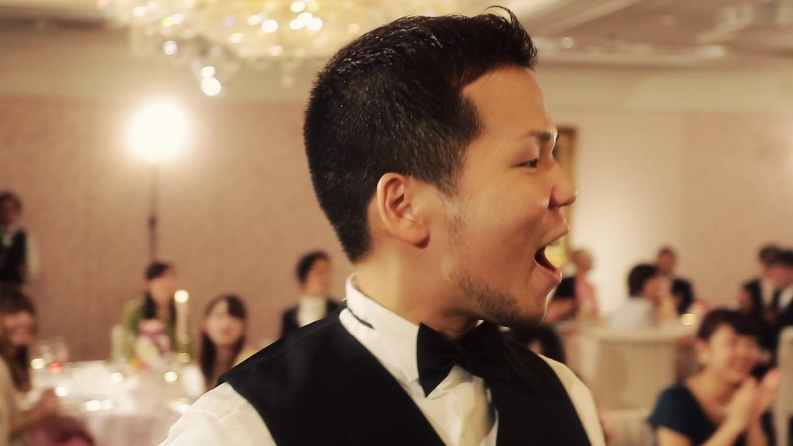 結婚式サプライズ