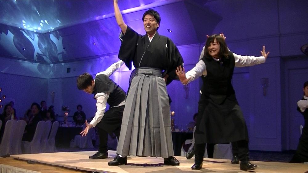 サプライズダンス