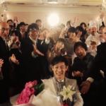 結婚式でフラッシュモブ