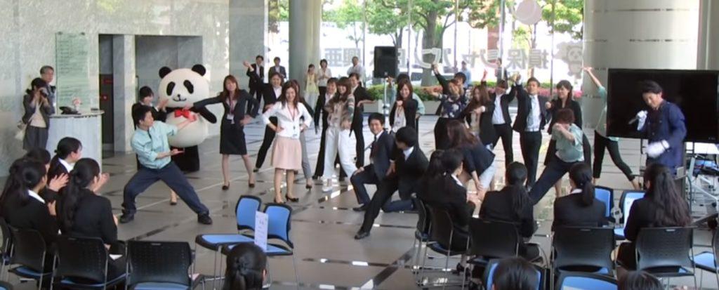 企業イベントのサプライズ演出もフラッシュモブジャパン
